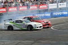 Asia Pacific D1 Primring Grand prix 2015 séries russes de dérive Images stock