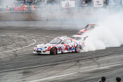 Asia Pacific D1 Primring Grand prix 2015 séries russes de dérive Photos stock