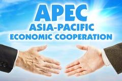 Asia-Pacific Economic Cooperation, APEC. Organization of countries of Asia-Pacific region. Asia-Pacific Economic Cooperation, APEC. International organization of stock photos