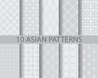 Asia pattern Stock Photography