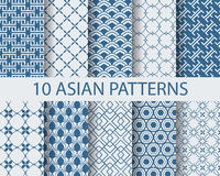 Asia pattern Stock Image