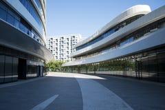 In Asia, Pechino, Cina, architettura moderna, SOHO di Wangjing Immagine Stock
