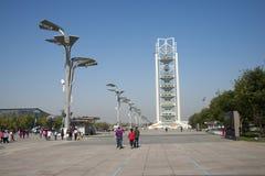 In Asia, Pechino, Cina, torre di Linglong Immagini Stock Libere da Diritti