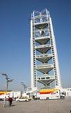 In Asia, Pechino, Cina, torre di Linglong Fotografia Stock