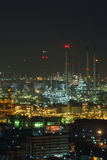 Asia petrochemical industrial plant royalty free stock image