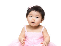 Asia pretty baby girl Stock Photos