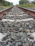 Asia railroad track for train Stock Photography