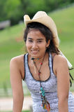 Asia Regge Woman Cowboy Thailand Royalty Free Stock Photos