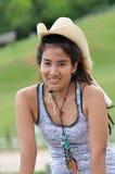 Asia Regge Woman Cowboy Thailand Royalty Free Stock Photos