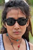 Asia Regge Woman Face Thailand Stock Image