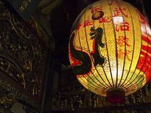 Asia religious lantern Royalty Free Stock Images