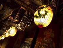 Asia religious lantern Royalty Free Stock Photography