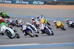 Asia Road Racing Championship 2016 Round 6 at Chang Internationa Royalty Free Stock Photography