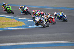 Asia Road Racing Championship 2016 Round 6 at Chang Internationa Royalty Free Stock Images
