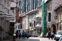 ASIA SINGAPORE CHINA TOWN. A market street in china town in the city of Singapore in Southeastasia stock photos