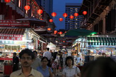 ASIA SINGAPORE CHINA TOWN. A market street in china town in the city of Singapore in Southeastasia royalty free stock photos