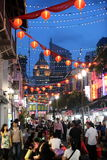 ASIA SINGAPORE CHINA TOWN. A market street in china town in the city of Singapore in Southeastasia royalty free stock photo