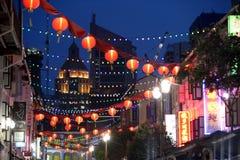 ASIA SINGAPORE CHINA TOWN. A market street in china town in the city of Singapore in Southeastasia stock photo