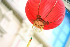 ASIA SINGAPORE CHINA TOWN. A traditional chinese lamp in china town in the city of Singapore in Southeastasia royalty free stock image