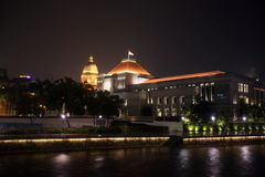 ASIA SINGAPORE OLD PARLIMENT HOUSE Royalty Free Stock Image