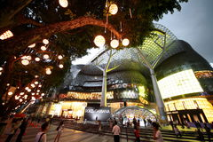 ASIA SINGAPORE ORCHARD ROAD SHOPPING MALL. Modern architecture and shopping malls at the Orchard Road in the city of Singapore in Southeastasia Royalty Free Stock Image