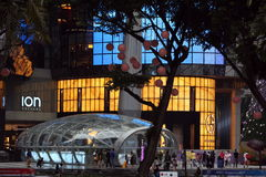 ASIA SINGAPORE ORCHARD ROAD SHOPPING MALL Royalty Free Stock Image