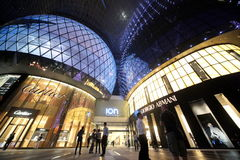 ASIA SINGAPORE ORCHARD ROAD SHOPPING MALL Royalty Free Stock Photos