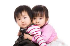 Asia sisterhood Stock Photo