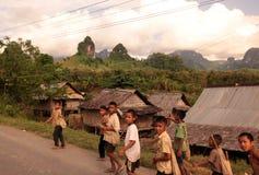 ASIA SOUTHEASTASIA LAOS VANG VIENG LUANG PRABANG Stock Photography