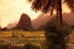 ASIA SOUTHEASTASIA LAOS VANG VIENG LUANG PRABANG Stock Image