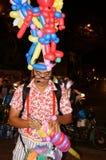 Asia street artist,  ballloon comic Royalty Free Stock Photo
