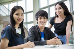 Asia students Stock Photo