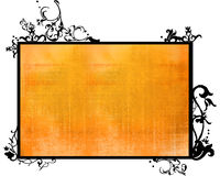 Asia style frame. Asia style  abstract backgrounds & textures Royalty Free Stock Photography
