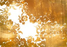 Asia style frame. Asia style  bstract backgrounds & textures Royalty Free Stock Photography