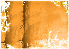 Asia style frame. Asia style  abstract backgrounds & textures Royalty Free Stock Photo