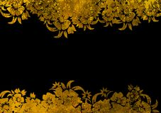 Asia style frame. Asia style  bstract backgrounds & textures Royalty Free Stock Image