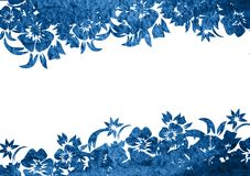 Asia style frame Royalty Free Stock Image