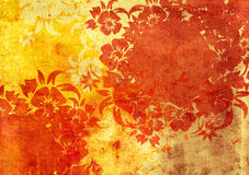 Asia style frame. Asia style textures and backgrounds Royalty Free Stock Photo