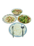 Asia style meal stock photo