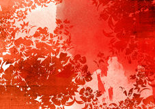Asia style textures Royalty Free Stock Image