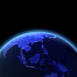 Asia Sud-Orientale 3d rende Immagine Stock