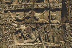 Asia sudoriental, Cambojia, Siem Reap, Angkor Wat 2 de marzo de 2017 Fotos de archivo libres de regalías