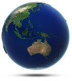 Asia sudoriental y Oceanía Imagen de archivo libre de regalías