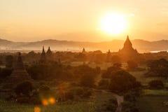 Asia sunset Royalty Free Stock Photo