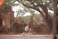 ASIA TAILANDIA AYUTHAYA WAT RATBURANA foto de archivo libre de regalías