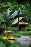 ASIA TAILANDIA CHIANG MAI FANG WASSERFALL Imagen de archivo libre de regalías