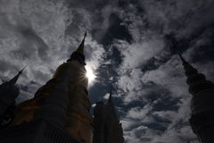 ASIA TAILANDIA CHIANG MAI WAT SUAN DOK Fotos de archivo