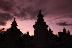 ASIA TAILANDIA CHIANG MAI WAT SUAN DOK Fotografía de archivo