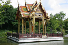 Asia temple. In westpark,munich Stock Image