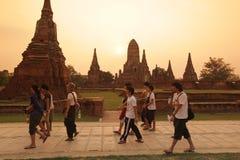 ASIA THAILAND AYUTHAYA WAT CHAI WATTANARAM Stock Image